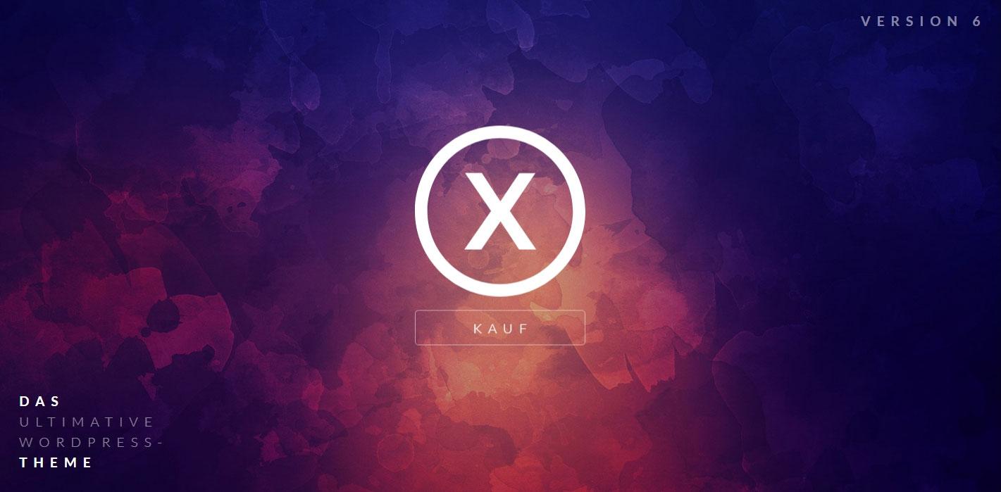X / Pro – Themes in deutscher Sprache