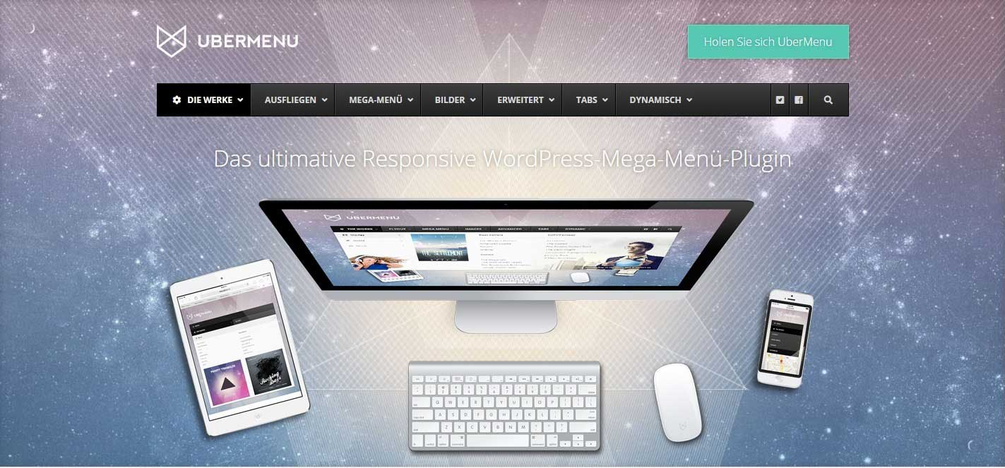 Das ultimative responsive WordPress Mega Menü Plugin