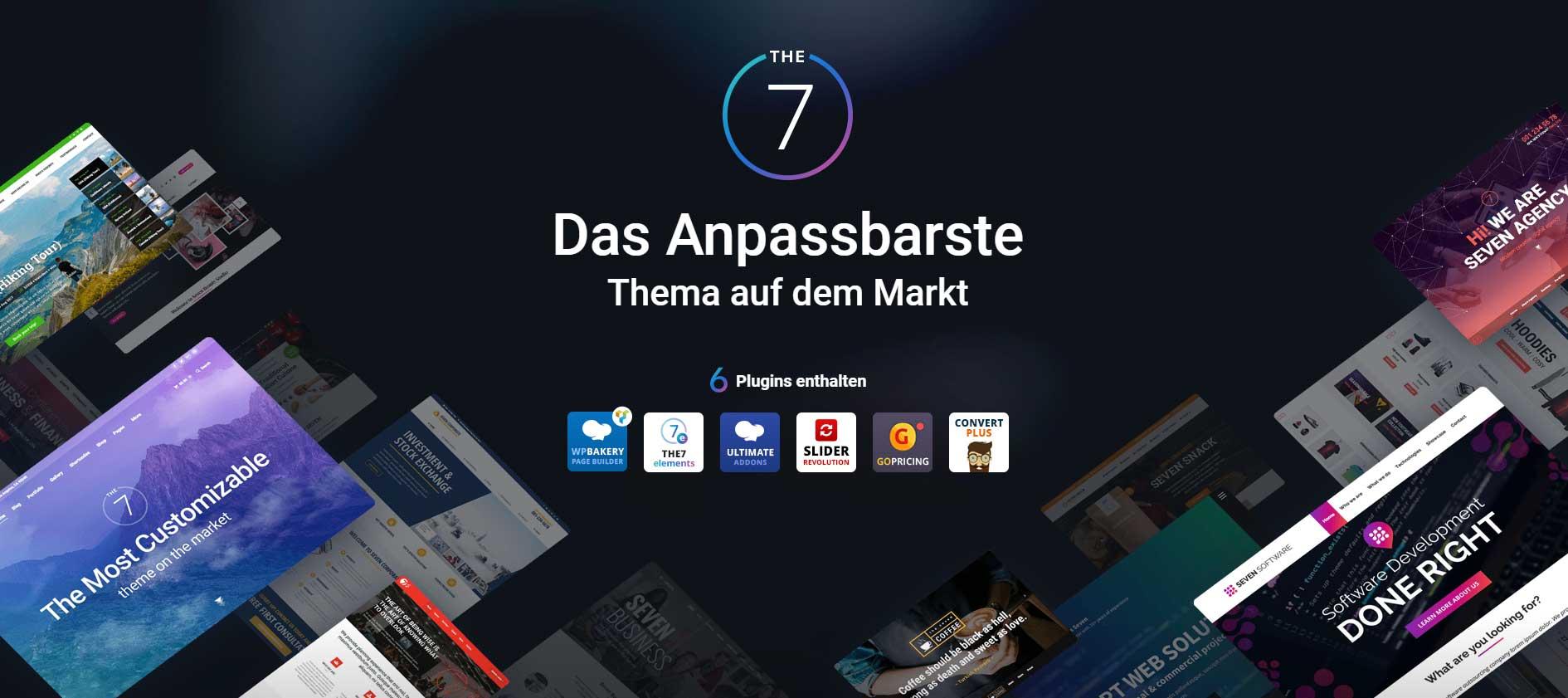 The7 WP-Theme deutsch 1