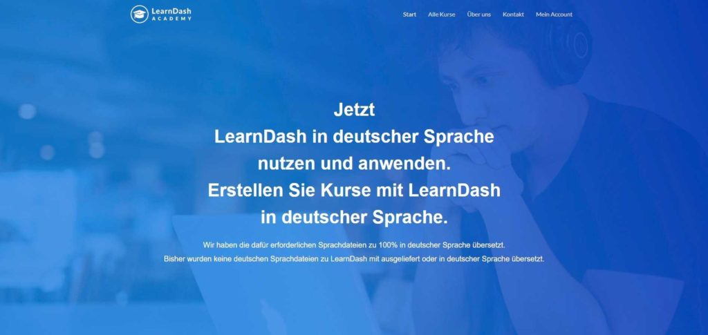 LMS LearnDash in deutscher Sprache