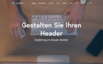 wp-theme jupiter x deutsch