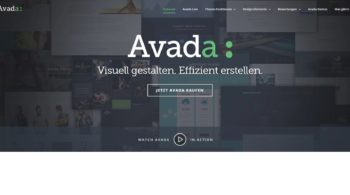 WP Theme Avada in deutsch