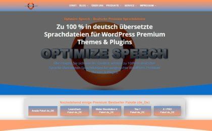 Optimize Speech - Deutsche Premium Sprachdateien