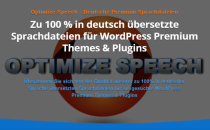 Optimize Speech - Deutsche Premium Sprachdateien